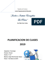 Planes 2019 I Parcial