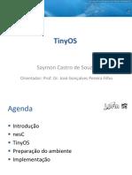 TinyOS NesC Saymon Aula