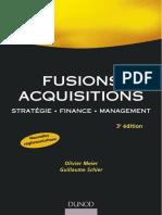 Fusions Acquisitions - 3supe Sup Édition