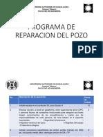 Programa de Reparación Del Pozo