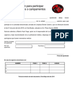 Autorización Para Participar Limpieza Borde Costero-1