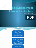 Strategic Management Lecture 3
