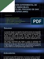 Inyección alternada de gas