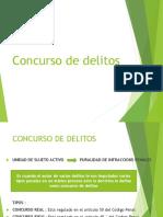 CONCURSO DE DELITOS 2