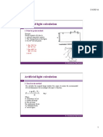 Artificial Light Calculation