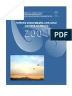 Informe Climatologico Ambiental Valle Mexico 2003