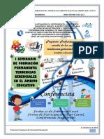 SEMINARIO DE FORMACIÓN PERMANENTE DE LA MAESTRÍA EN GERENCIA EDUCATIVA