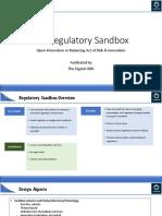RBI Regulatory Sandbox