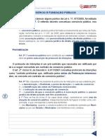 10. Consórcio e Fundação Pública