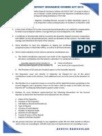 The Mauritius Deposit Insurance Scheme Act 2019 - An Overview