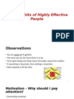 Seven Habits of Highly Effective People 1