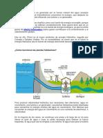 La energía hidráulica es generada por la fuerza natural del agua.docx