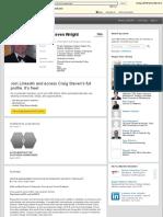 Craig Steven Wright | LinkedIn