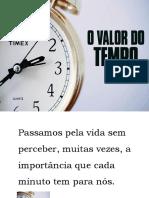 Palestra - O Valor Do Tempo