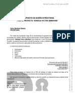 Presupuesto Estructural Bodega Víctor Abraham