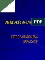 Aminoacid Metabolism