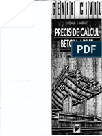 Précis de Calcul Béton Armé, Applications - Bordas Editions
