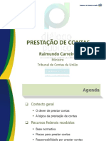 Presta__o de Contas - Palestra Ministro Carreiro