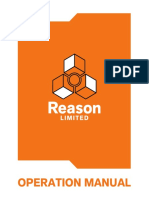 Reason limited manual