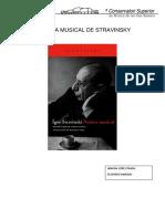 Poética Musical de Strawinszky
