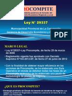 Ley N°29337 IV PROCOMPITE
