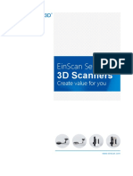 EinScan Brochure 2018