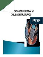 Certificación de un Sistema de Cableado Estructurado