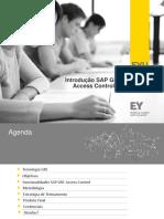 EY - Workshop SAP GRC Access Control - 32 Pg