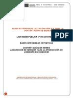 Bases Integradas Definitivas - Mtc