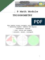 Grade 9 Math Module