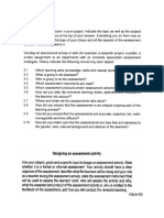 Examples of Assessment Guidelines