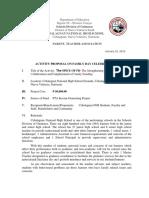 CNHS Activity Proposal