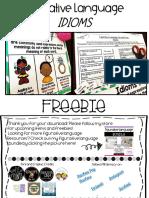 FigurativeLanguageIDIOMSFreeResource.pdf
