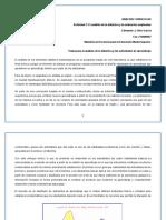 El análisis de la didáctica y la evaluación empleadas