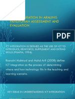 Ict Integration in Araling Panlipunan Assessment And
