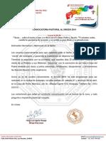 008 Prot 20190319 Convocatoria Patoral Al SINODO 2019