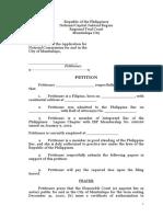 SDL Petition