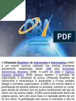 Oba - Olimpíada Brasileira de Astronomia e Astronáutica 2019