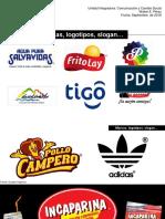Marcas, Logotipos, Slogans