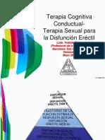 Disfuncion Erectil-trastorno Del Ciclo Estimulo-respuesta Sexual- Yoleida Rivera
