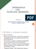 Building Design Presentation Flexural Members