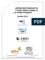 UK Water Approved Products