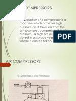 Unit-5) Air Compressors