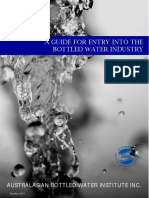 Water a Guide for Industry Entry v2