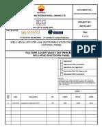 Acp Exa Icg Pci Qly Ps 009 Fat Procedure Rev.a