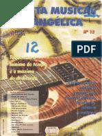 REVISTA  MUSICAL  EVANGÉLICA  Nº  012
