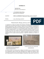 Informe de Malachoswky