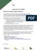 Projecte eduCAT1x1  - Recursos digitals edu356 - Llengua catalana