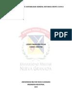 Taller Primer Corte Contabilidad General Distancia Grupo a 2019