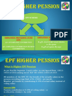 Understanding EPF Higher Pension Option